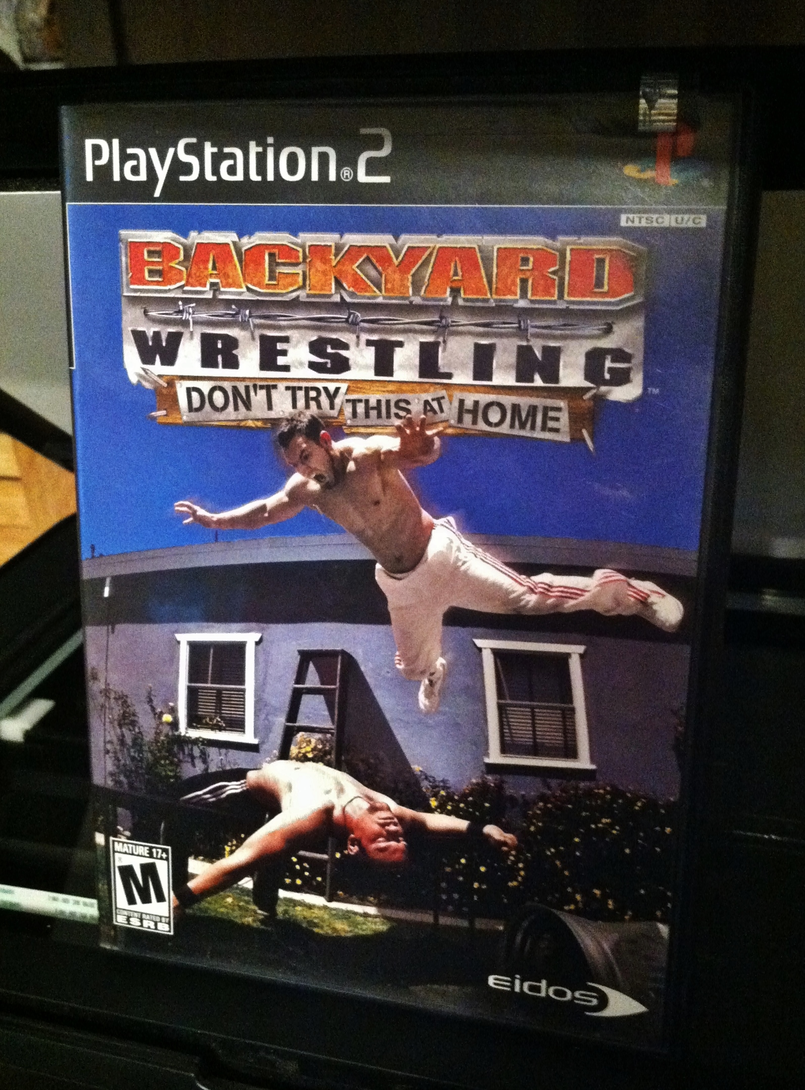 pre owned backyard wrestling don 39 t try this at home sony playstation